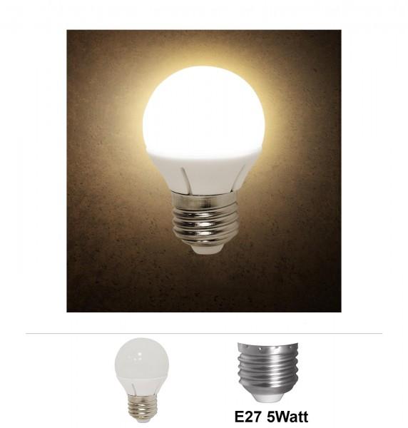 Grafner® LED Leuchtmittel E27 5 Watt 3000K Warmweiss