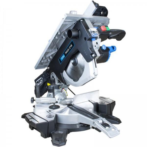 Güde Tisch- und Kappsäge TKGS 216 mit Laser Tischkreissäge Gehrungssäge