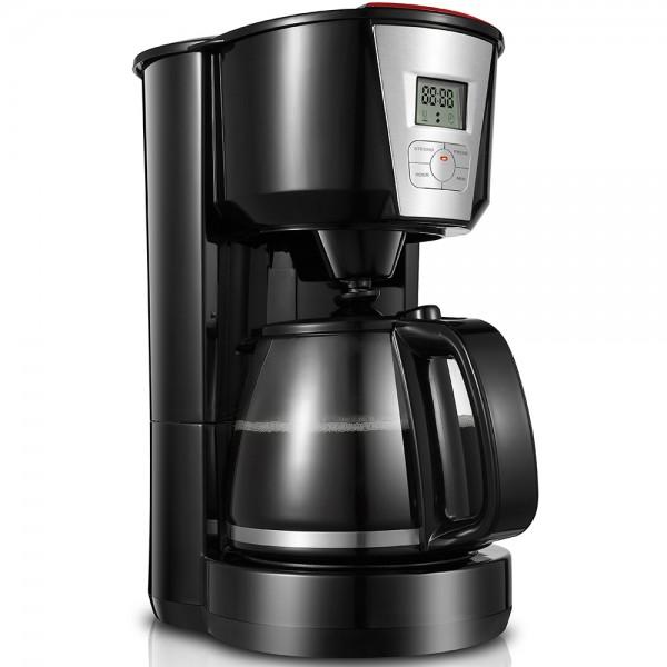 Grafner® digitale Filter Kaffeemaschine mit Timer