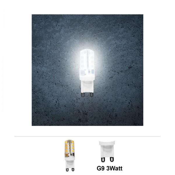 Grafner® LED Leuchtmittel G9 3 Watt 6000K Kaltweiss