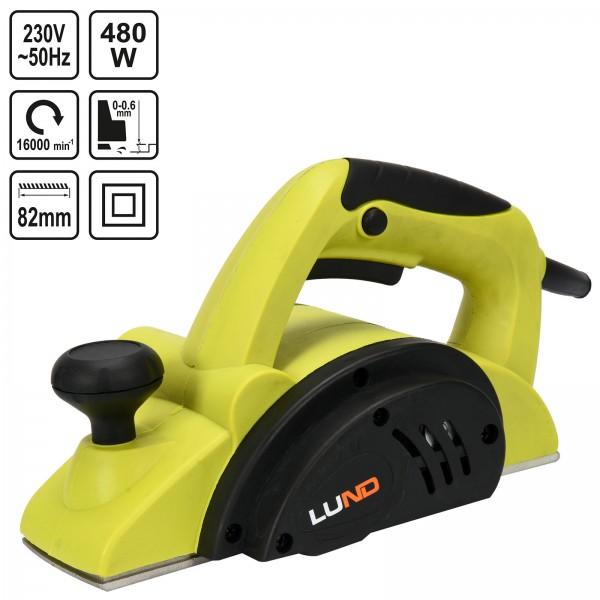 Lund Elektro Hobel 480 Watt 82mm 16.000 U/min 79415