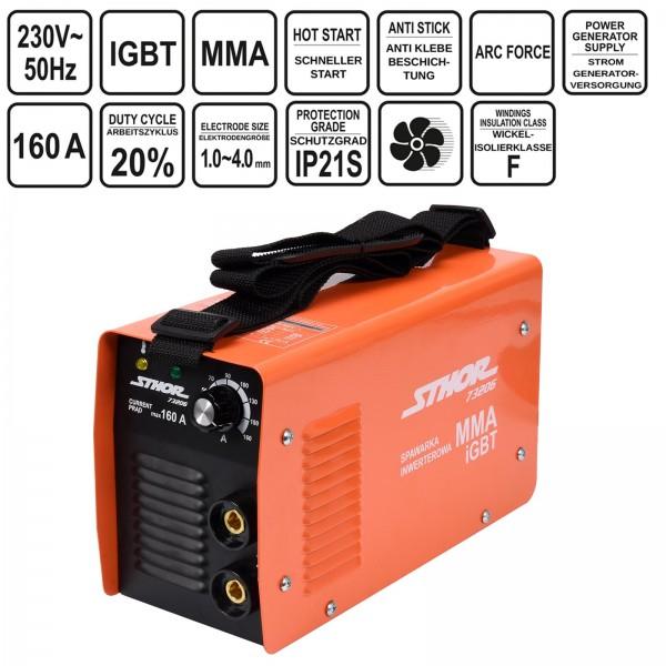 Sthor Inverter Schweißgerät IGBT MMA 160A