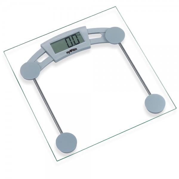 Grafner® Digitale Personenwaage aus Glas 180kg Körperwaage