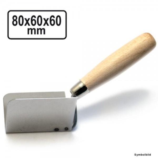 Kelle für Innenecken 90° Inneneckkelle 80x60x60mm