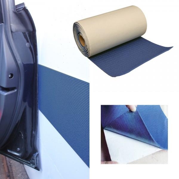 Auto Türschutzleiste Schutzleiste Garage blau 200 x 20 cm