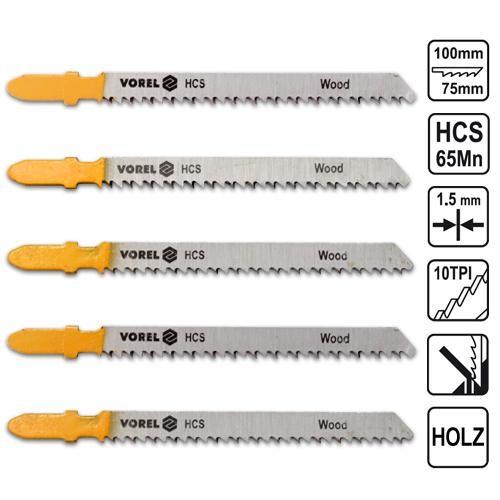 20x Stichsägeblätter Holz für Bosch Stichsägen Stichsägeblatt T-Schaft 100 mm