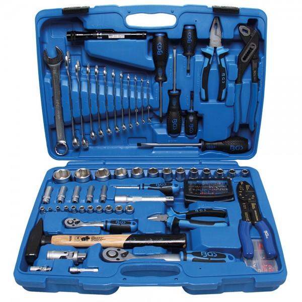 BGS 9029 Steckschlüssel-Werkzeugkoffer | 117-tlg.