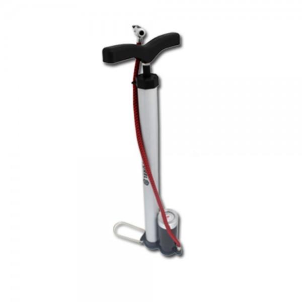 Fahrrad Standpumpe inkl. 10 Bar Manometer Luftpumpe
