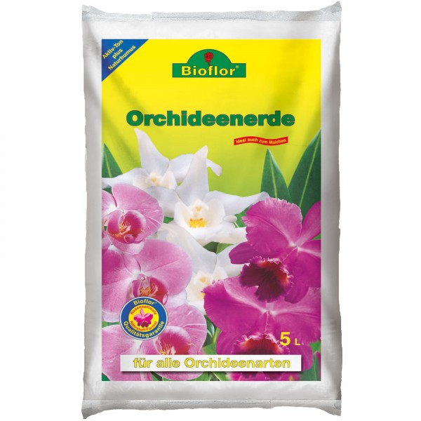Bioflor Orchideenerde 5 Liter Beutel