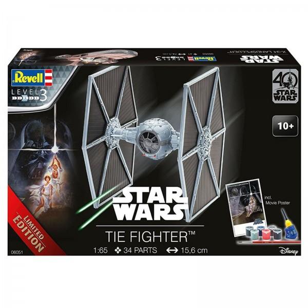 Revell Modellbausatz Raumfahrt SciFi Star Wars Tie Fighter Maßstab 1:65 06051