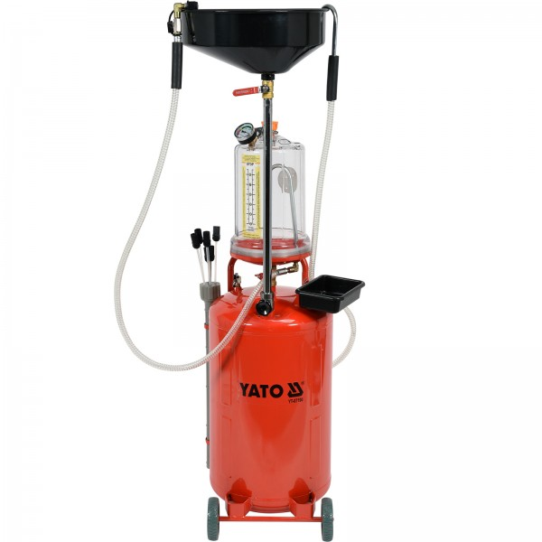 YATO PROFI Altölabsaug- und Auffanggerät Ölauffanggerät Ölabsauggerät Ölwechsel70 Liter YT-07190