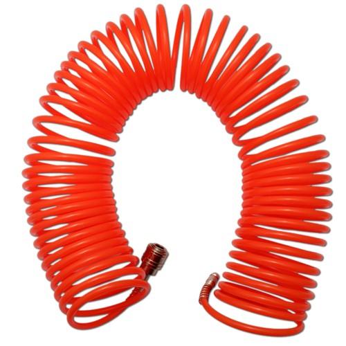 15 Meter Druckluftschlauch Spiralschlauch