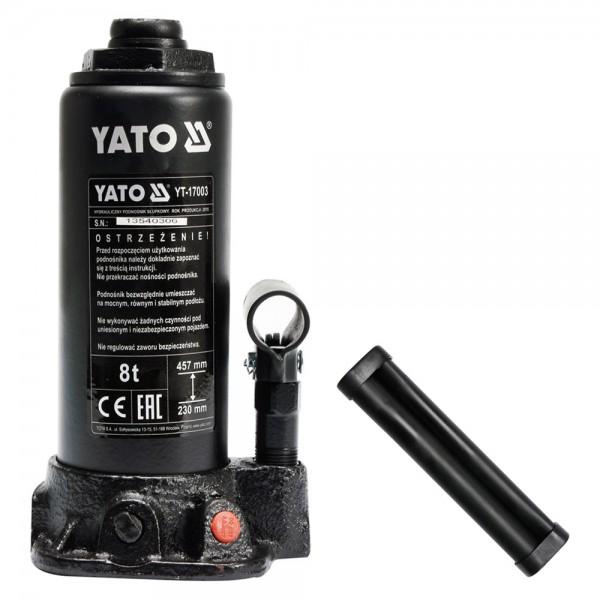 YATO Profi Hydraulischer Stempelwagenheber YT-17003 bis 8 Tonnen