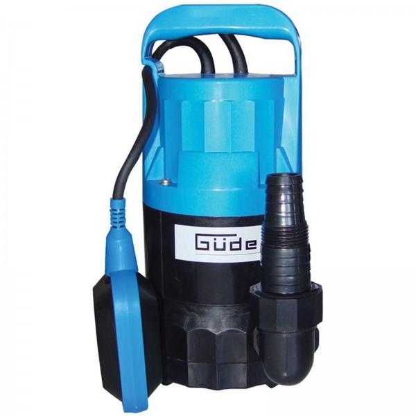 Güde Klarwasser Tauchpumpe GT 2500 Flachsaugerpumpe 250 Watt 5.000 l/h Pumpe