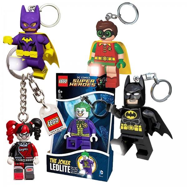 LEGO Batman LED LITE Schlüsselanhänger mit Taschenlampe
