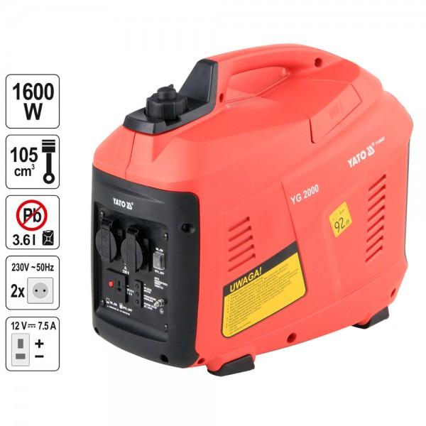 YATO Profi Stromerzeuger 230 Volt 1600 Watt