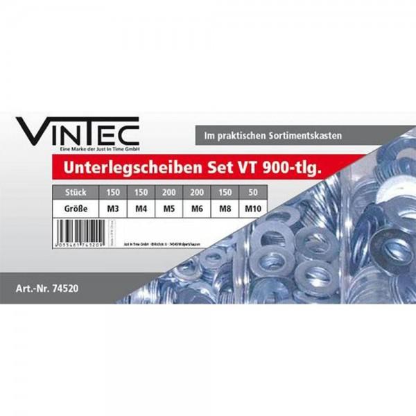 Vintec Unterlegscheiben Set 900tlg M3-M10