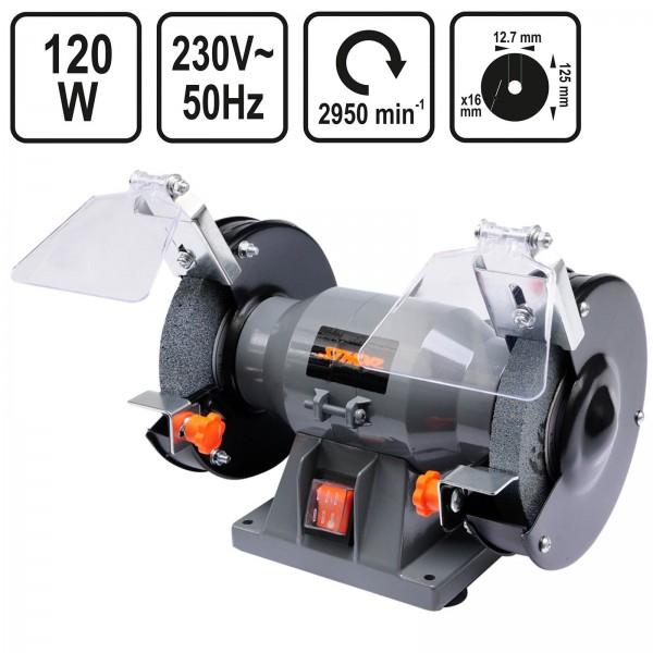 Sthor Doppelschleifmaschine 125mm 120 Watt