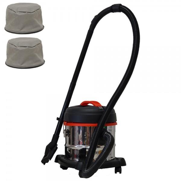 Grafner® Nass- und Trockensauger 15 Liter mit Ersatzfilter