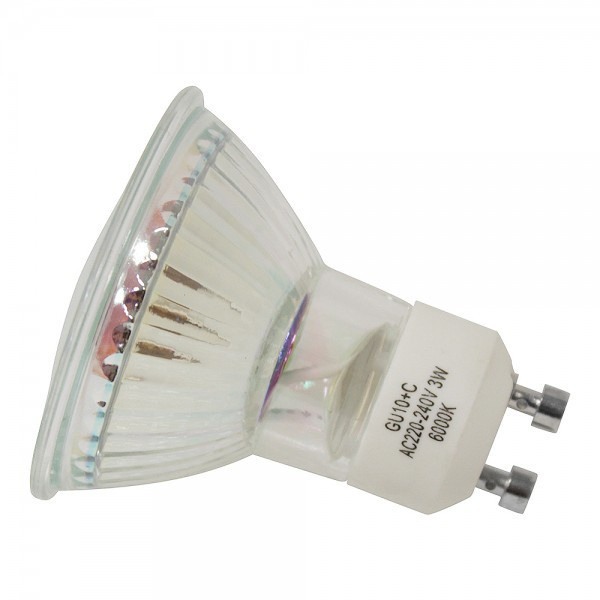 10x Grafner® LED Leuchtmittel 3W GU10 Kaltweiß