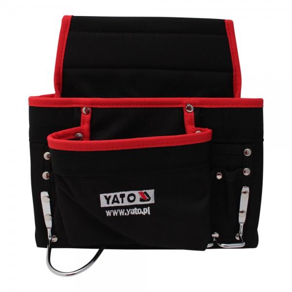 YATO Profi XL Gürtelwerkzeugtasche mit 8 Fächern