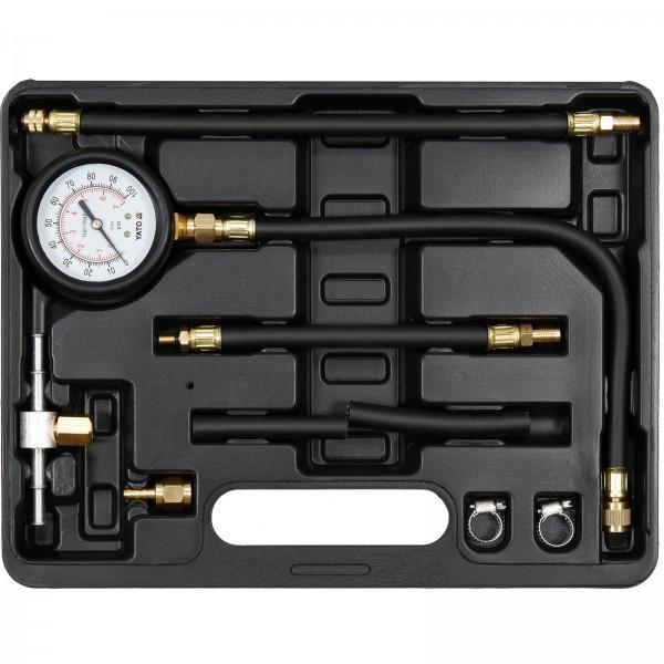 Yato Profi Kraftstoff Einspritzdruck Tester 9tlg. Benzin