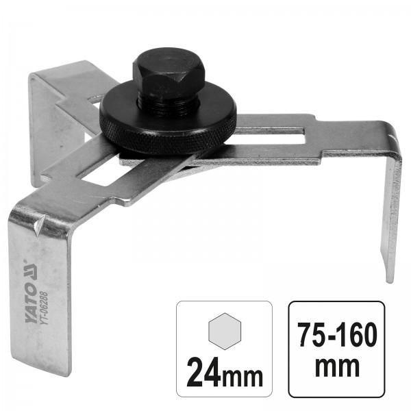 YATO Profi Kraftstoffpumpen Schlüssel 75-160mm YT-06288