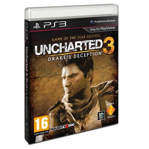 Uncharted 3: Drake's Deception Game für Playstation 3