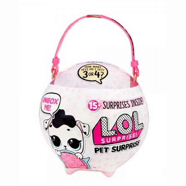 L.O.L. Surprise! Biggie Pet Dollmatian LOL 15+ Überraschungen Figur Spielzeugfigur