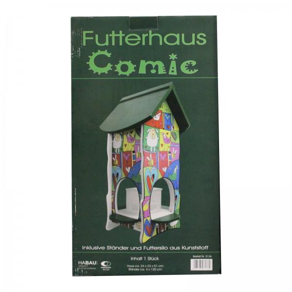 Habau Vogelfutterhaus Comic
