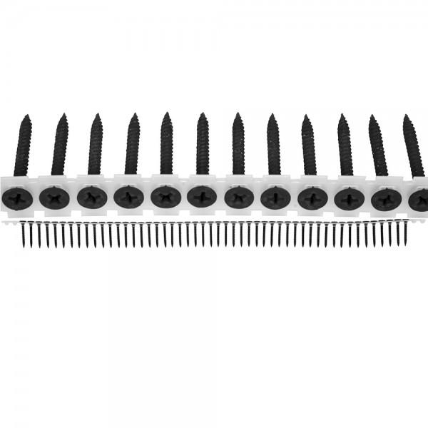 YATO Profi Schnellbauschrauben | auf Band | 3,9x35mm | Grobgewinde | 1000 Stück | YT-09460