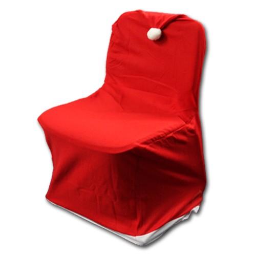Weihnachts Stuhlhusse für ganzen Stuhl Nikolausstuhlhusse Husse Weihnachten Deko