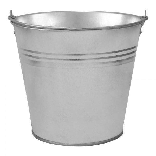 Zinkeimer Deko Eimer 10 Liter