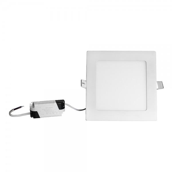 Grafner® LED Panel Eckig 12W Warmweiss 3000 K LP10370