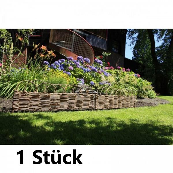 Garden Pleasure Beetbegrenzung aus Weide Rasenkante