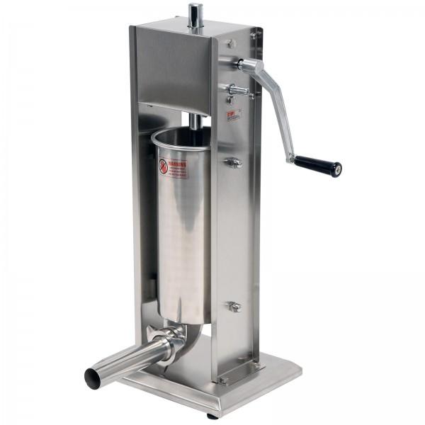 YATO Profi Wurstfüllmaschine Edelstahl 5 Liter YG-03360