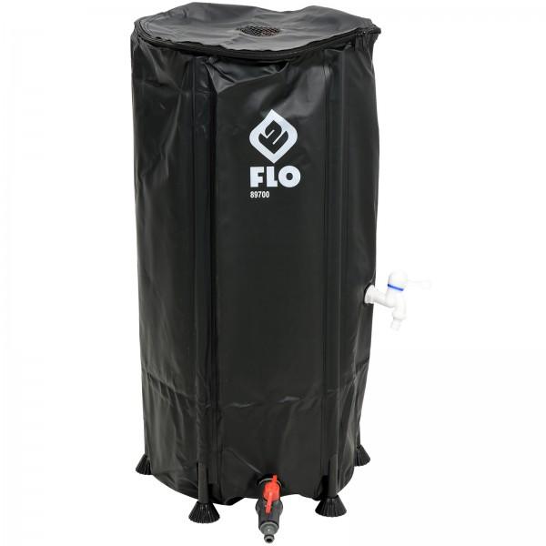 FLO Wassertonne faltbar 100 Liter PVC 89700