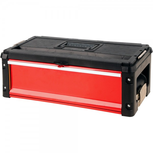 YATO Profi Werkzeugkasten mit 1 Schublade YT-09108 Werkzeugschrank