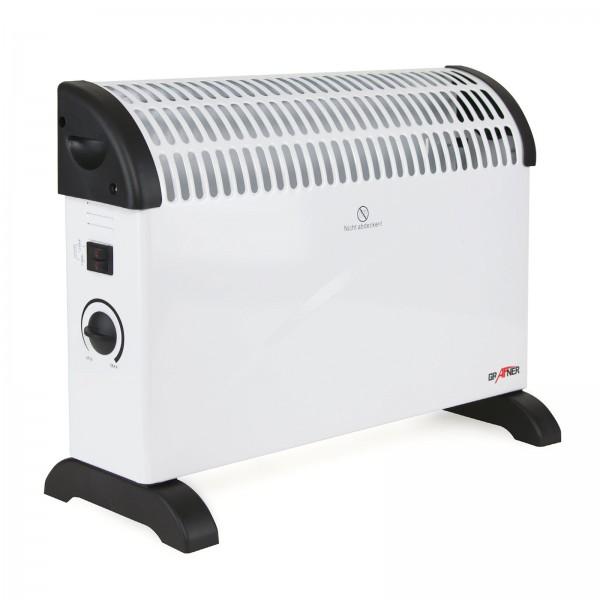 Grafner® Konvektor Heizgerät 2000 Watt Überhitzungsschutz und Frostwächterfunktion Radiator
