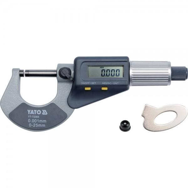 YATO Profi Digital Mikrometer 0,001-25mm YT-72305