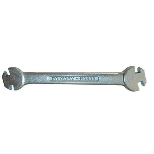 BGS 7180 Speichen-Spannschlüssel Nippelspanner 6,3-5,6-5,0-4,5 mm Speichenspanner