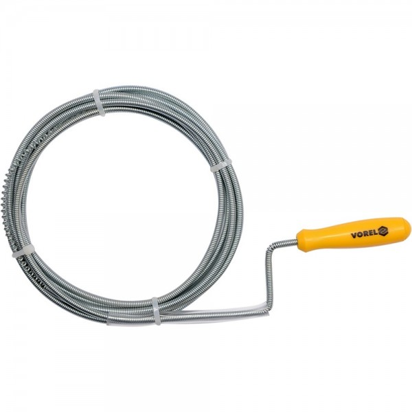 Vorel Rohrreinigungs-Spirale 1,5 m / 5 mm