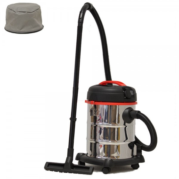 Grafner® Nass- und Trockensauger 30 Liter mit 4 Filtern