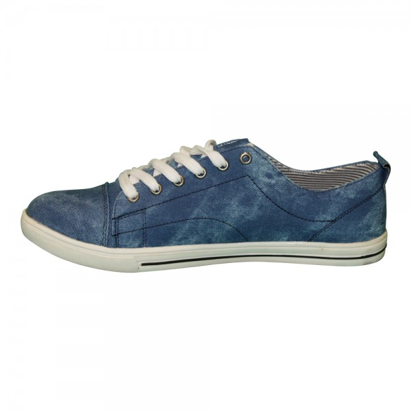 Herren - Schnürer Sneaker Größe: 41 / Farbe: Blau