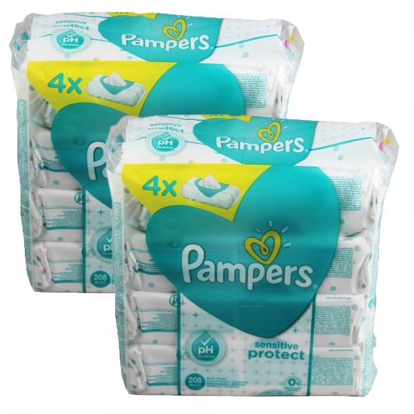 2x Feuchttücher Pampers Sensitive Protect 4er Pack