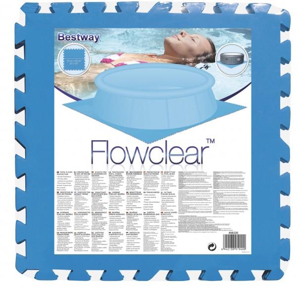 Bestway Poolmatten 9er-Pack 50x50 58220