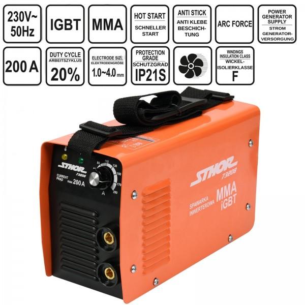 Sthor Inverter Schweißgerät IGBT MMA 200A
