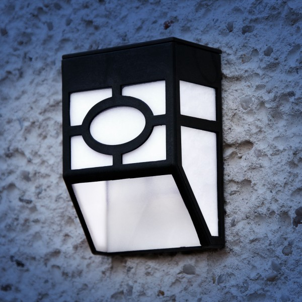 Grafner LED Solar Wandlampe SL10701 Wandleuchte Solarleuchte