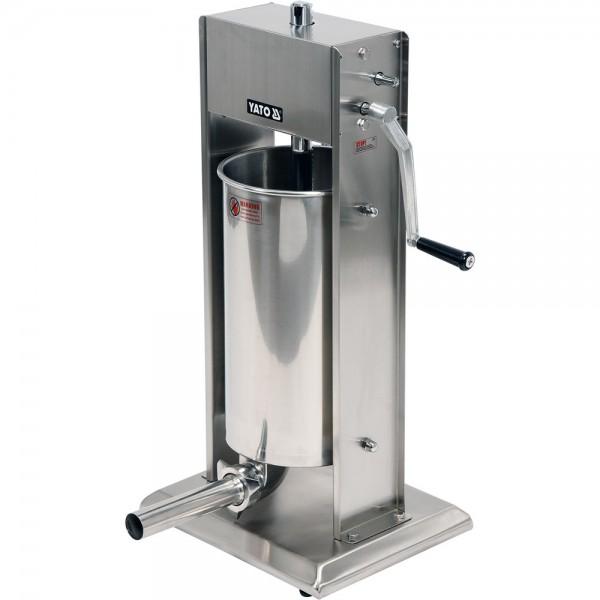 YATO Profi Wurstfüllmaschine Edelstahl 15 Liter YG-03380
