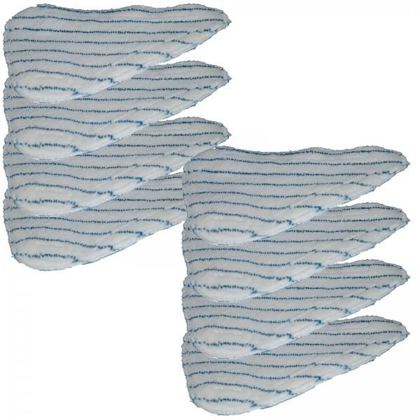 Grafner® Microfasertuch für Dampfbesen 8er Set